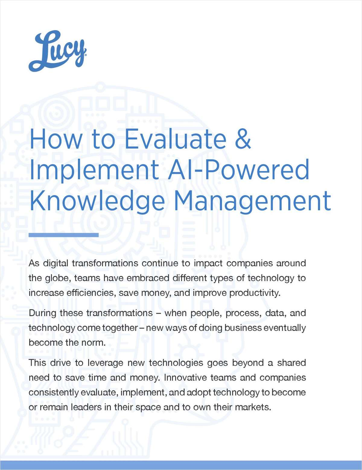 Your Path to Smarter Knowledge Management