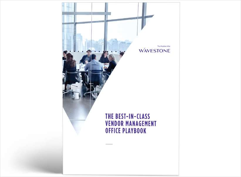 The Best-In-Class Vendor Management Office Playbook