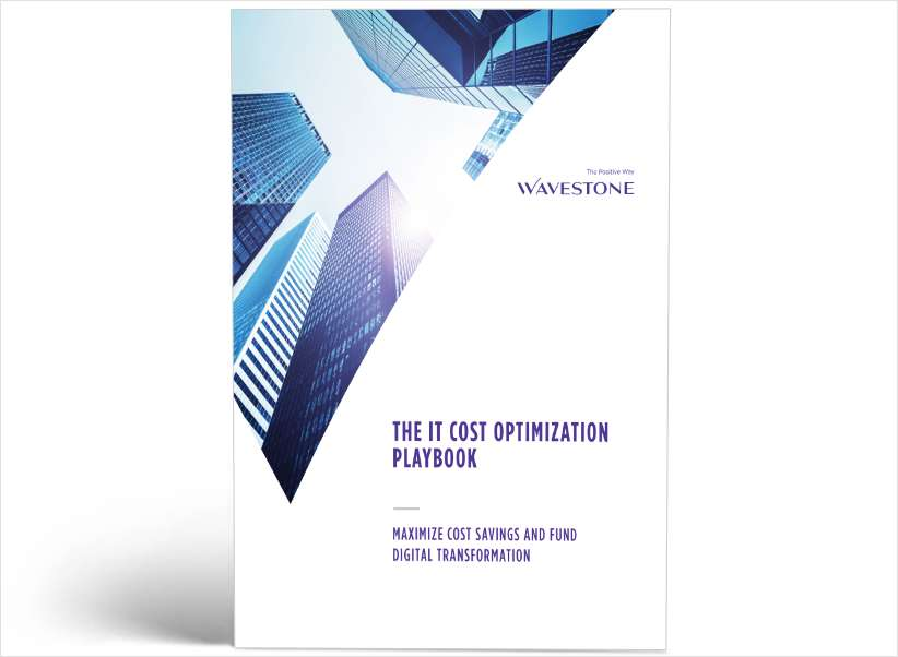 The IT Cost Optimization Playbook