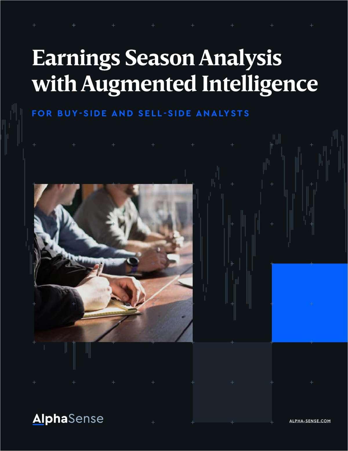 Earnings Season Analysis with Augmented Intelligence