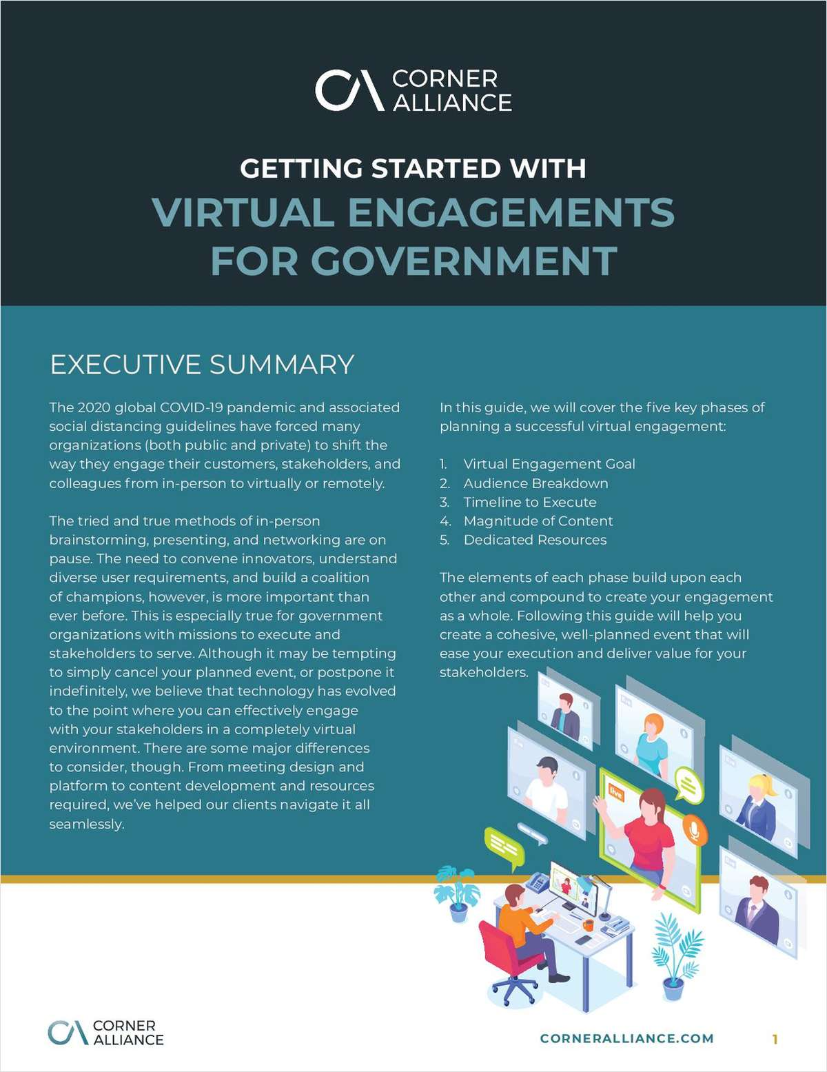 Getting Started With Virtual Engagements for Government