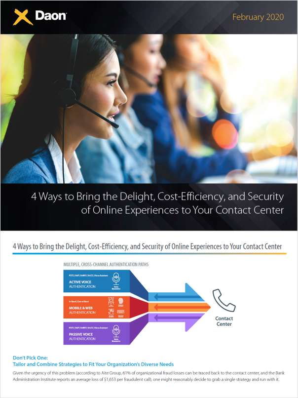 4 Ways to Bring the Delight, Cost-Efficiency, and Security of Online Experiences to Your Contact Center