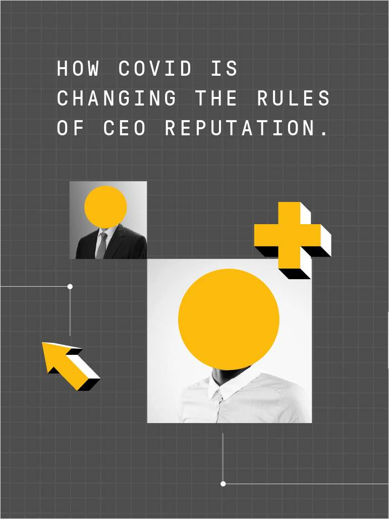 Why Your Reputation Matters: CEOs Ranked by COVID Response