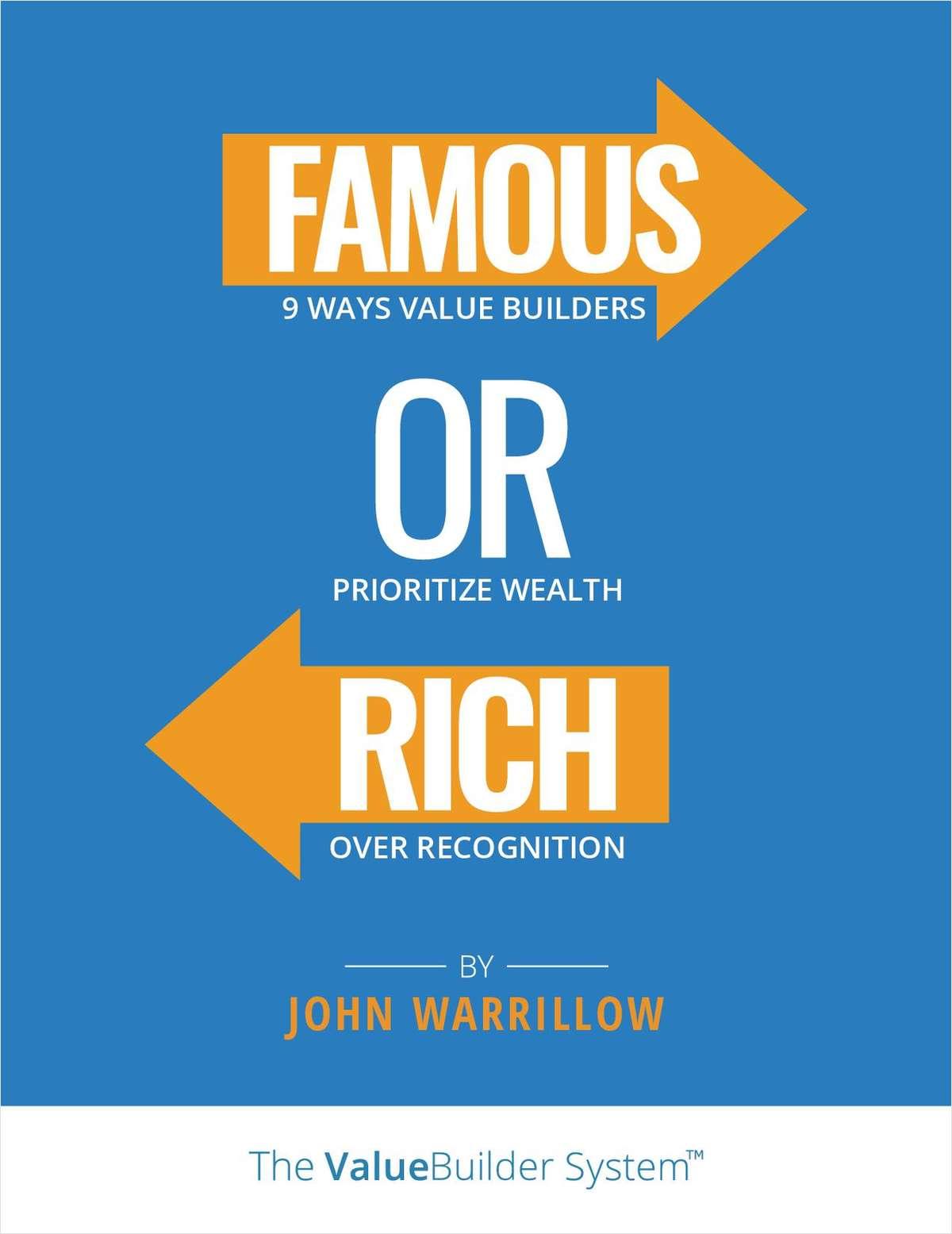 Famous or Rich