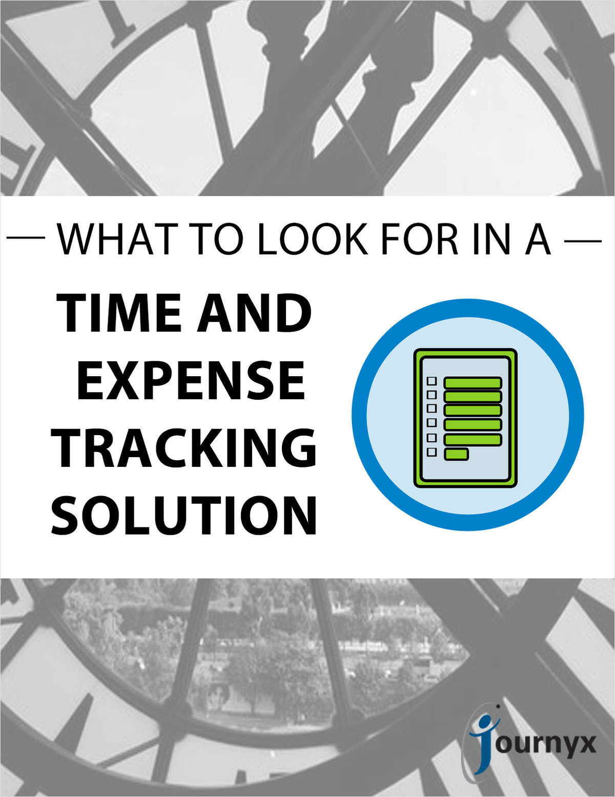 What to Look For in a Time and Expense Tracking Solution