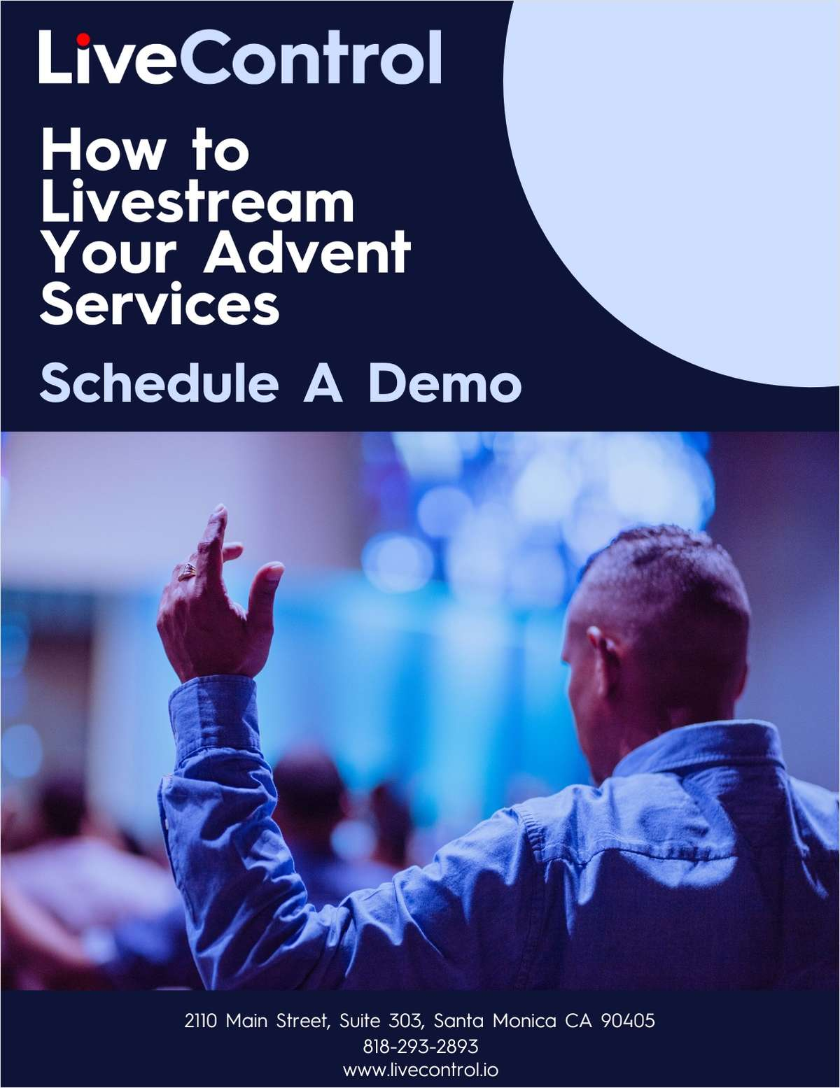 How To Livestream Your Advent Services: Schedule A Demo