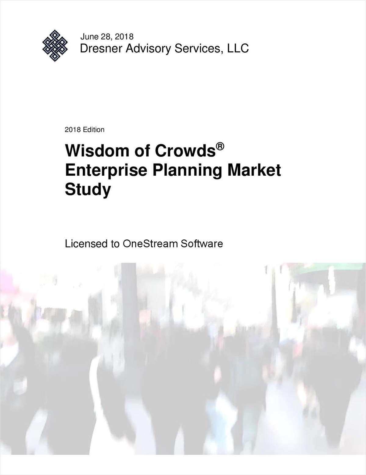 Dresner Advisory Wisdom of Crowds® Enterprise Planning Market Study