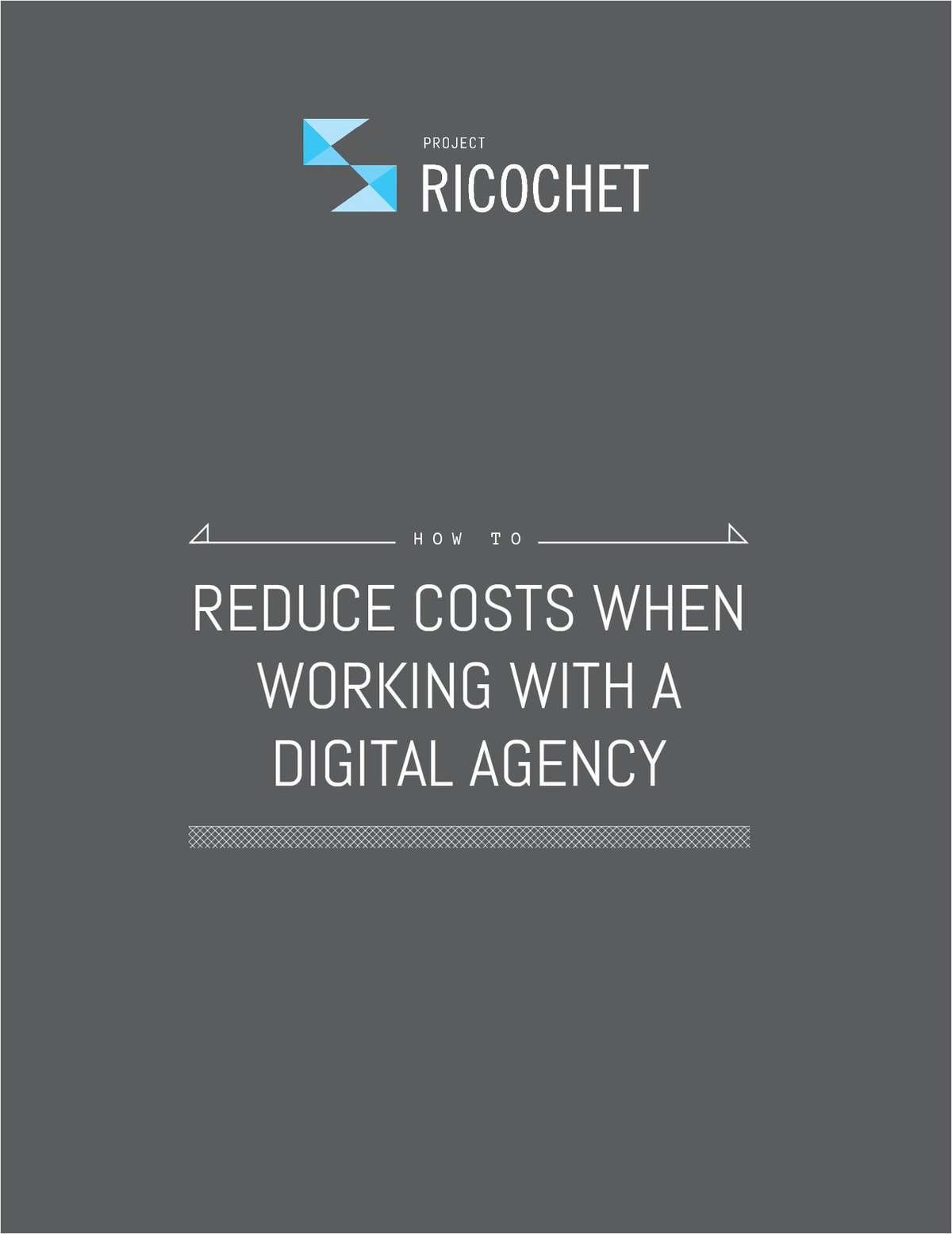 How to Reduce Costs When Working With a Web Development Agency
