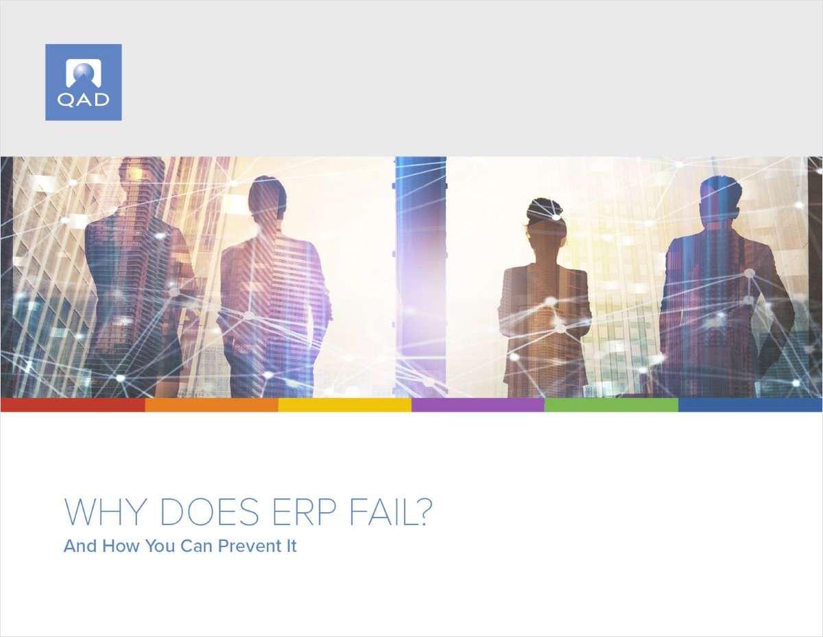 Why Does ERP Fail?