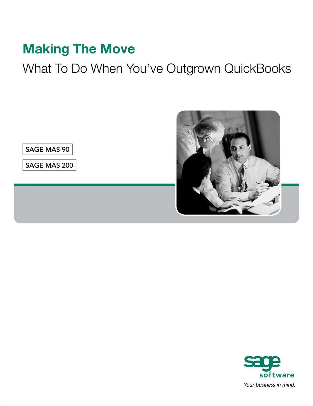 Making The Move - What to Do When You've Outgrown QuickBooks