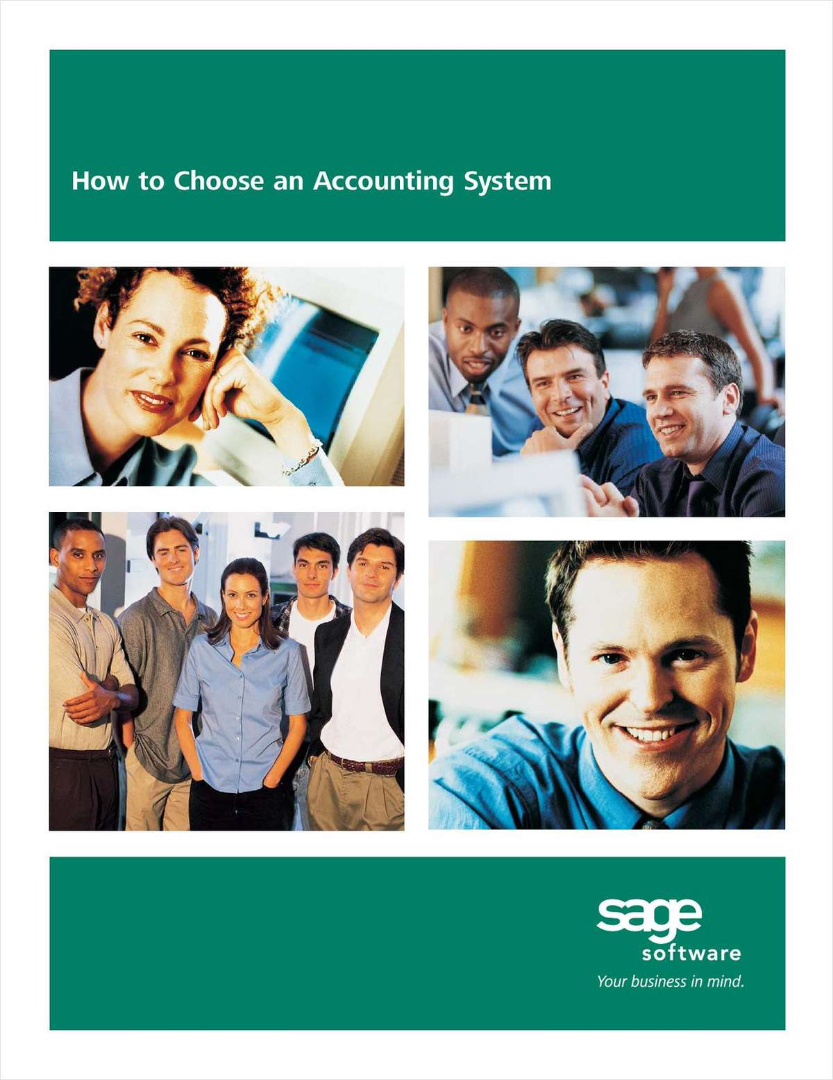 Choosing an Accounting System