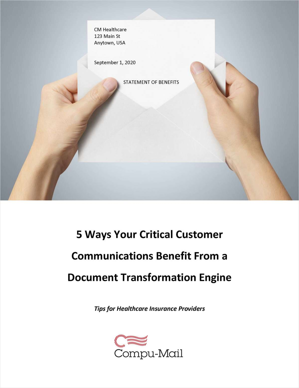 5 Ways Your Critical Customer Communications Benefit From a Document Transformation Engine