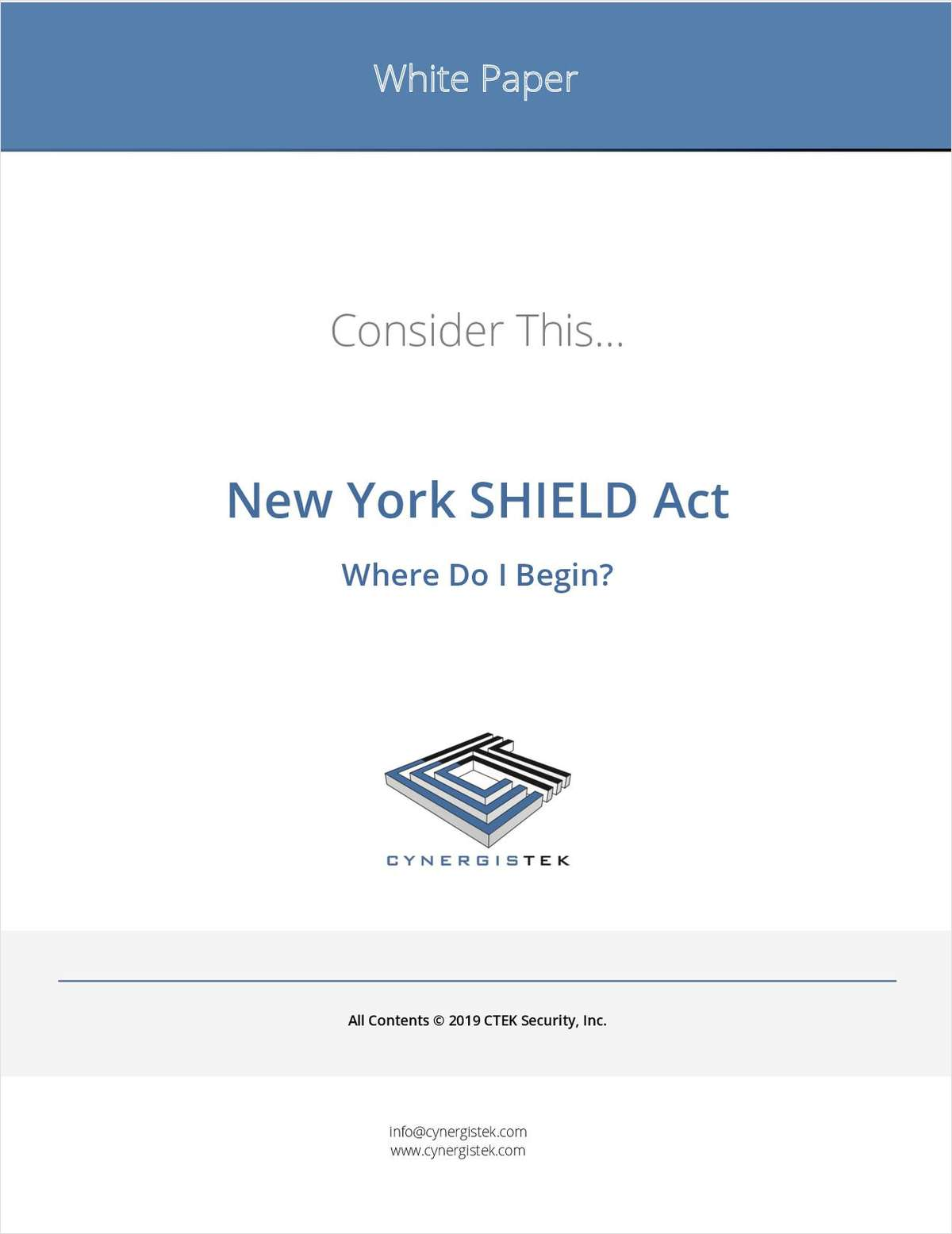 New York SHIELD Act: Where Do I Begin?