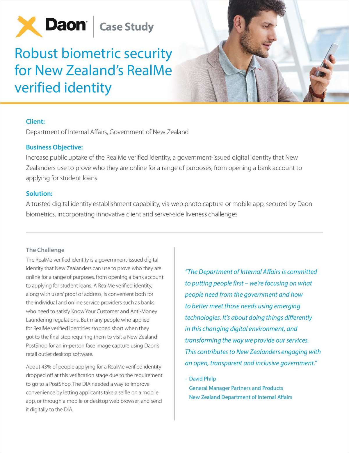 How Kiwibank and the New Zealand Government Delivered Frictionless Digital Onboarding with No Compromise on Security
