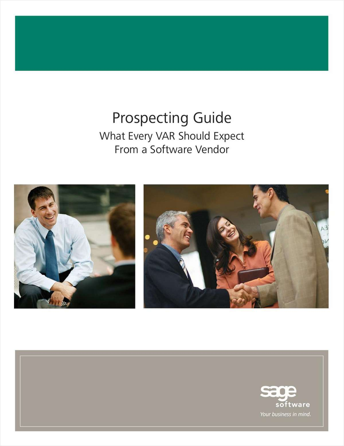 Prospecting Guide: What Every VAR Should Expect From a Software Vendor