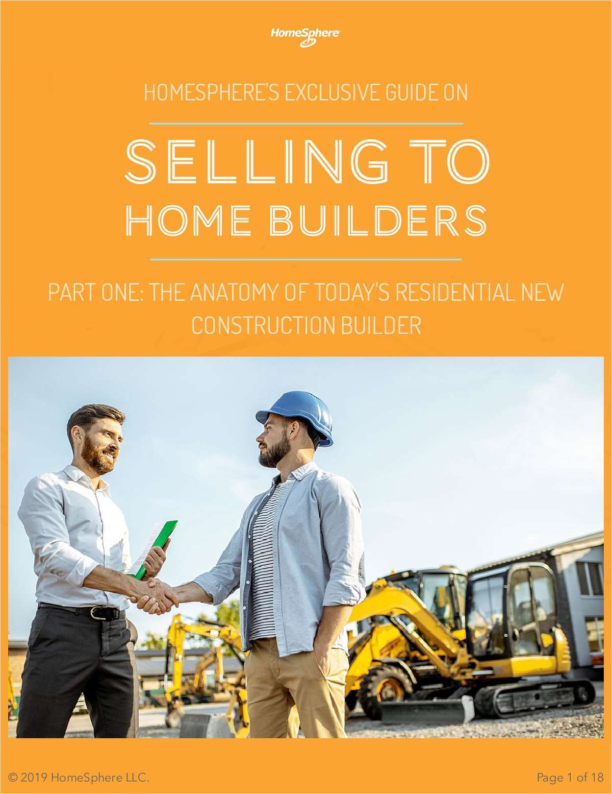 The Exclusive Guide on Selling to Home Builders