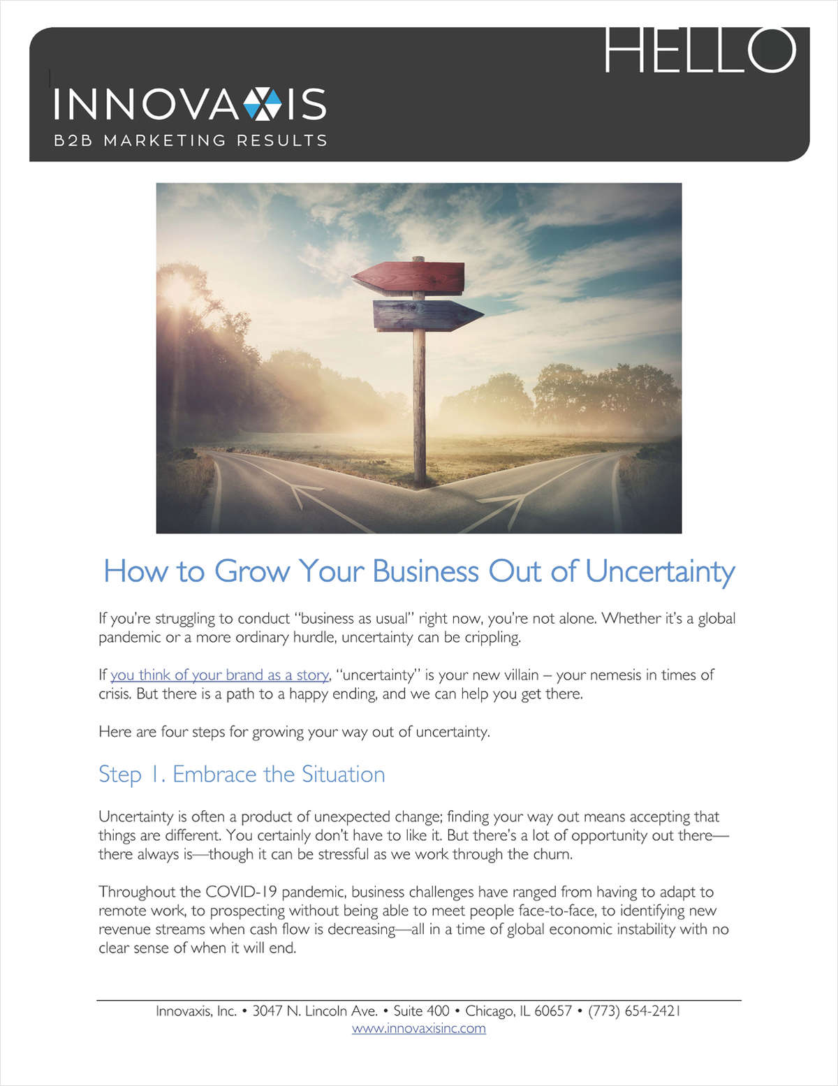 How to Grow Your Business Out of Uncertainty