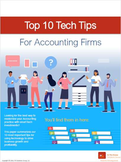 Top 10 Tech Tips for Accounting Firms