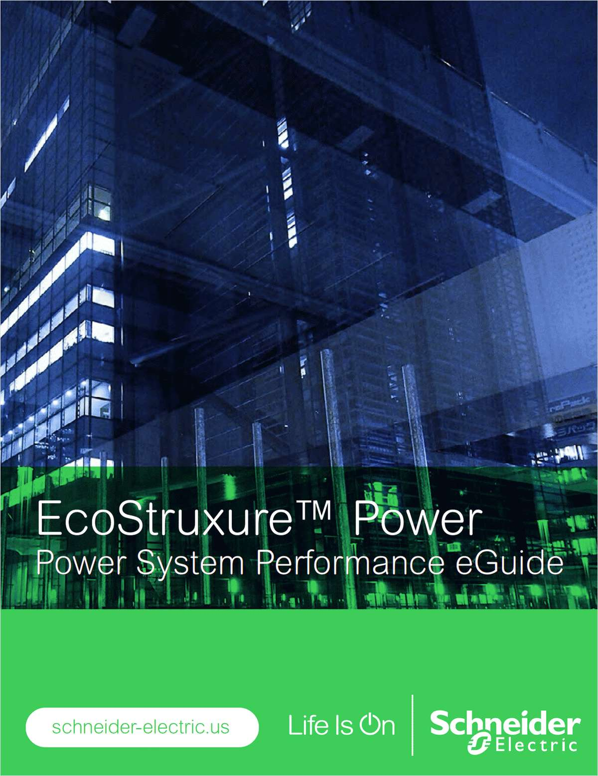 EcoStruxure™ Power: Power System Performance eGuide