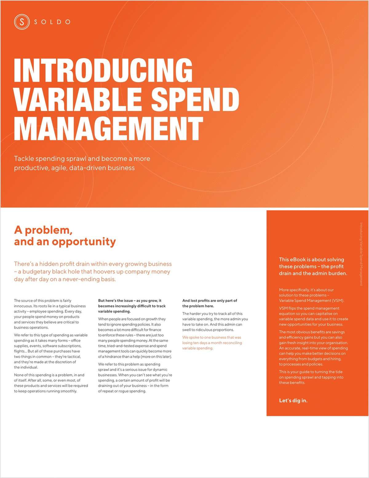Introducing Variable Spend Management