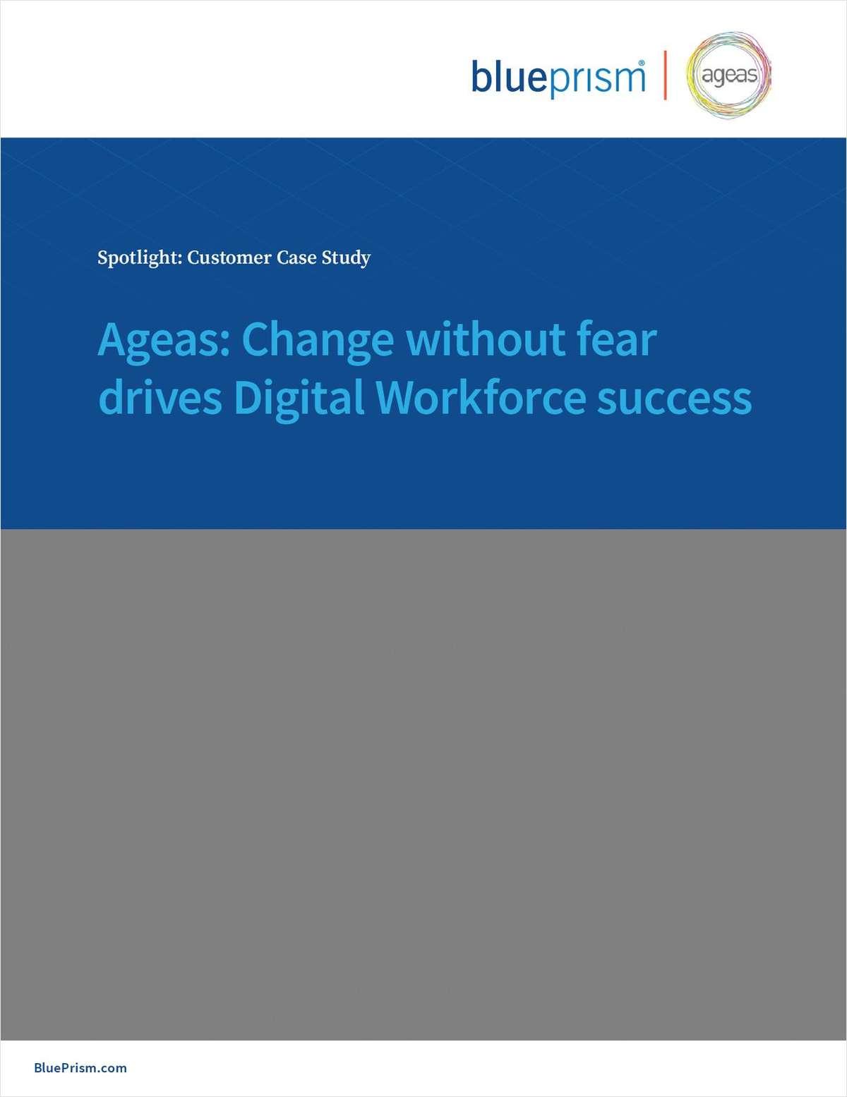 Ageas: Change without Fear Drives Digital Workforce Success