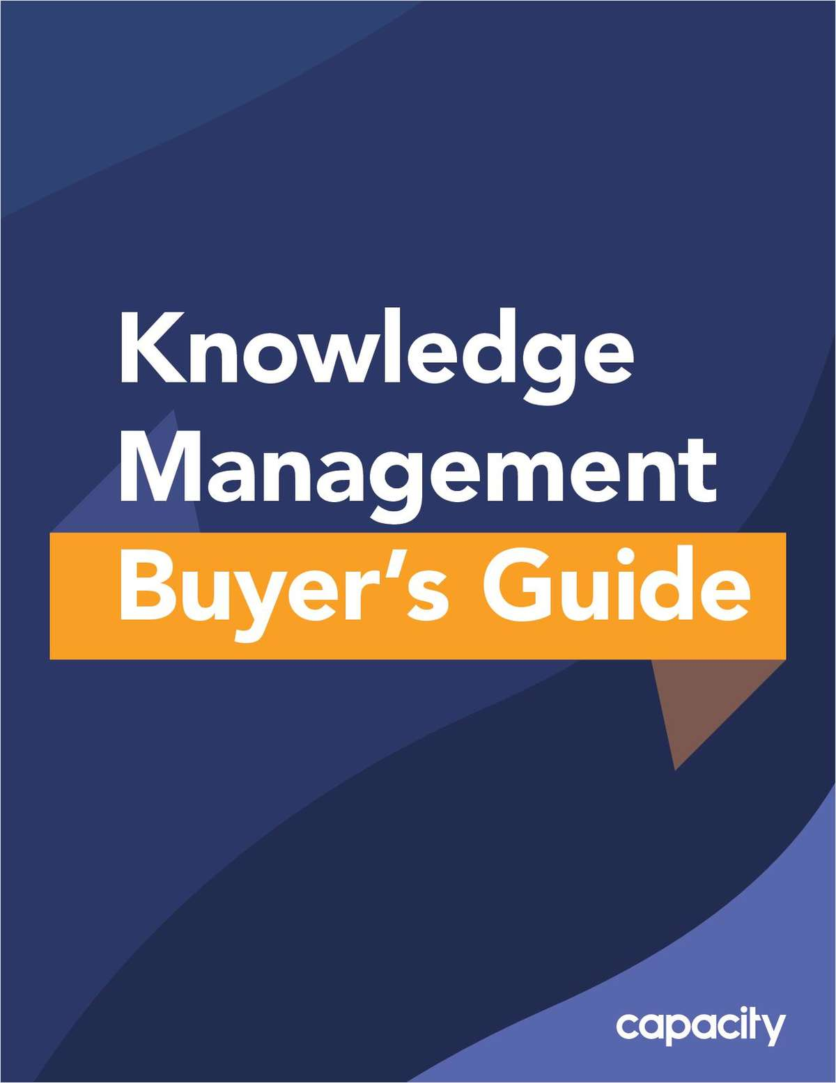 Knowledge Management Buyer's Guide