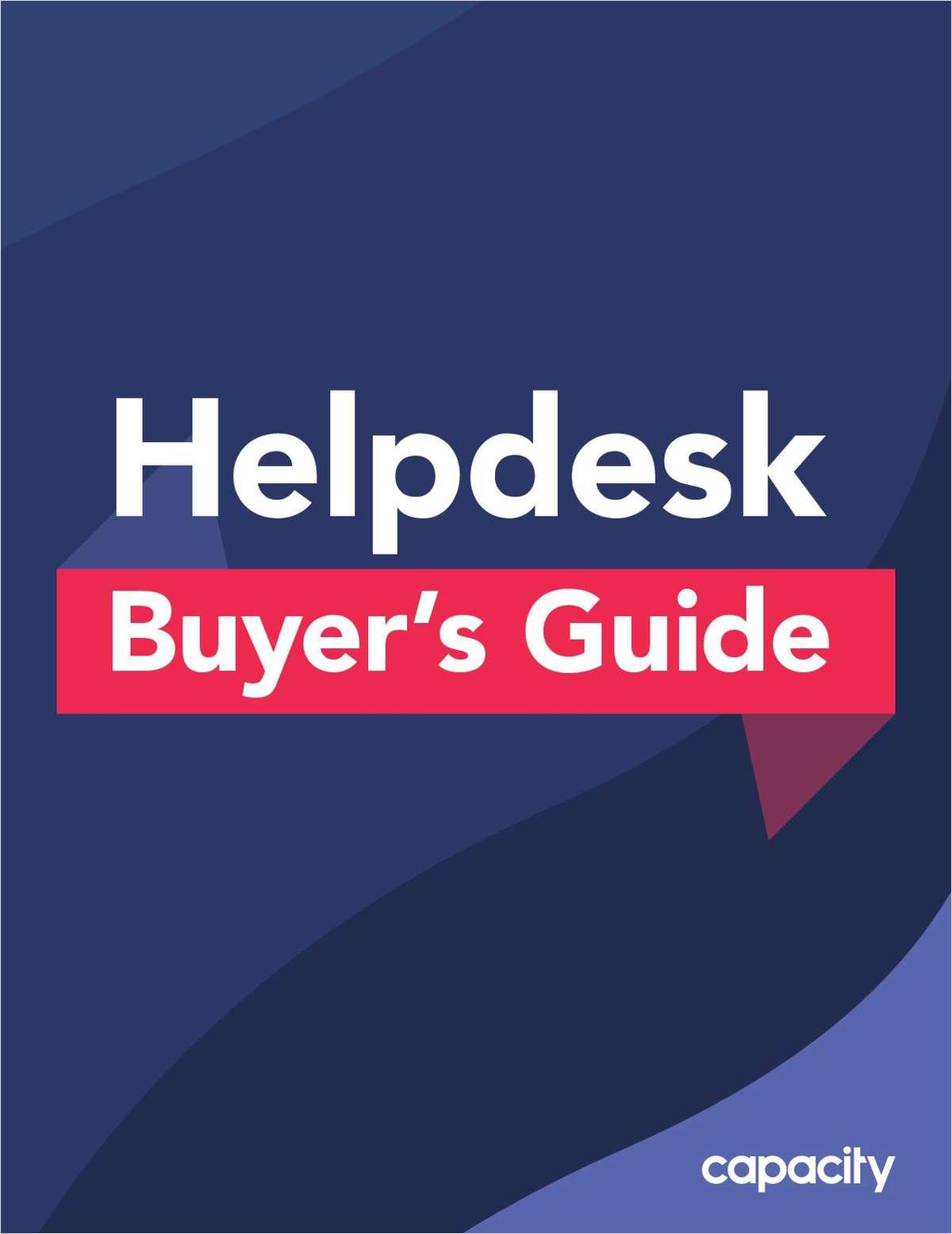 Helpdesk Buyer's Guide