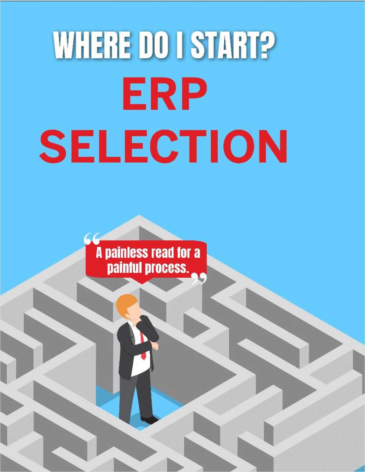 ERP Selection - Where Do I Start?
