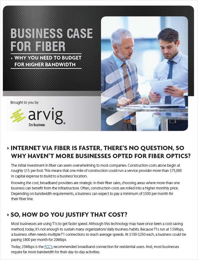 Business Case For Fiber