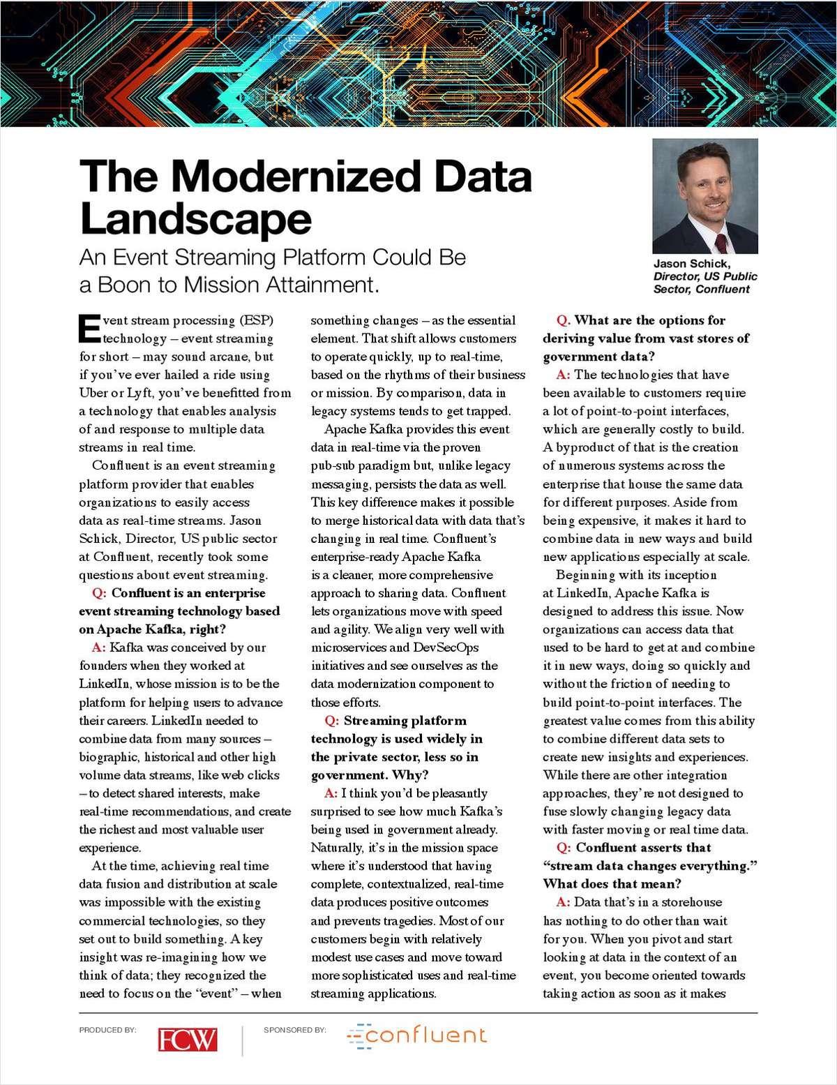 Federal Computer Week: The Modernized Data Landscape
