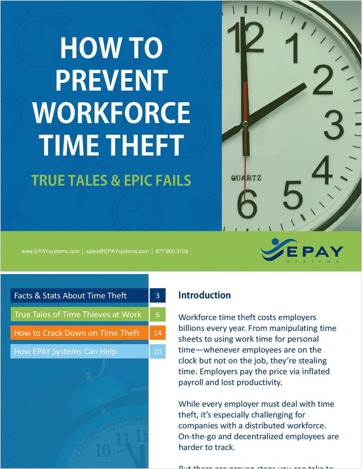 How to Prevent Workforce Time Theft