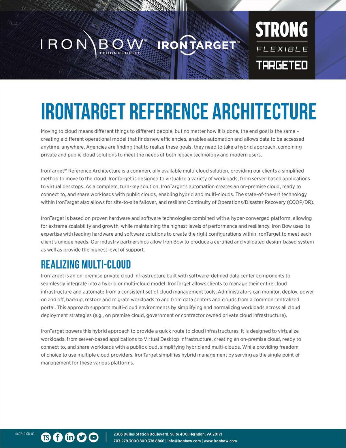 IronTarget Reference Architecture