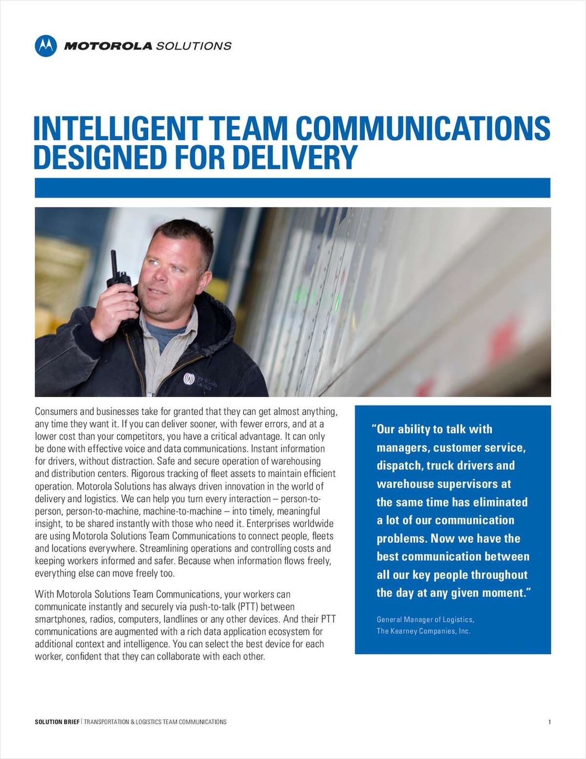 Intelligent Team Communications Designed for Delivery