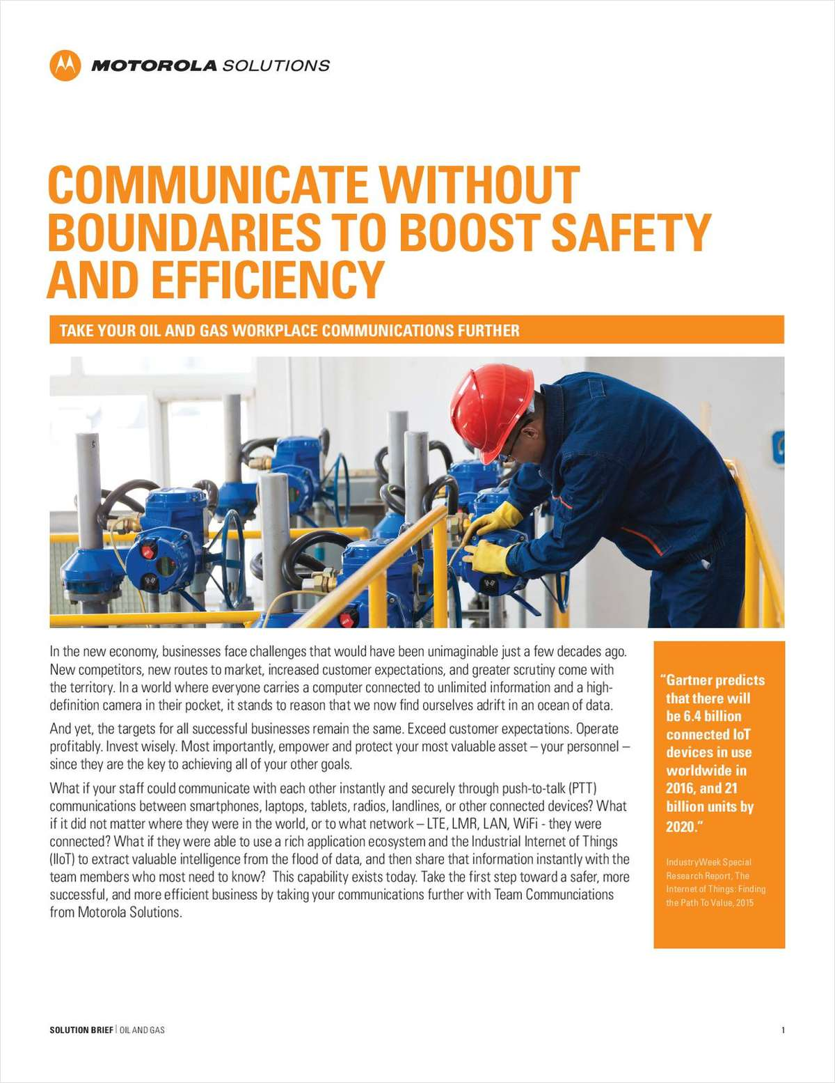 Communicate Without Boundaries to Boost Safety and Efficiency