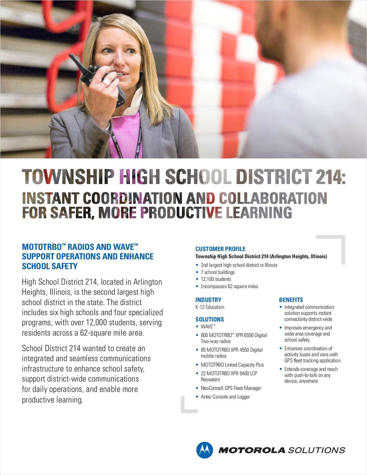 Township High School District 214 Case Study
