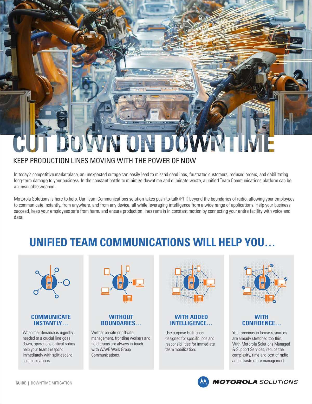Cut Down on Downtime