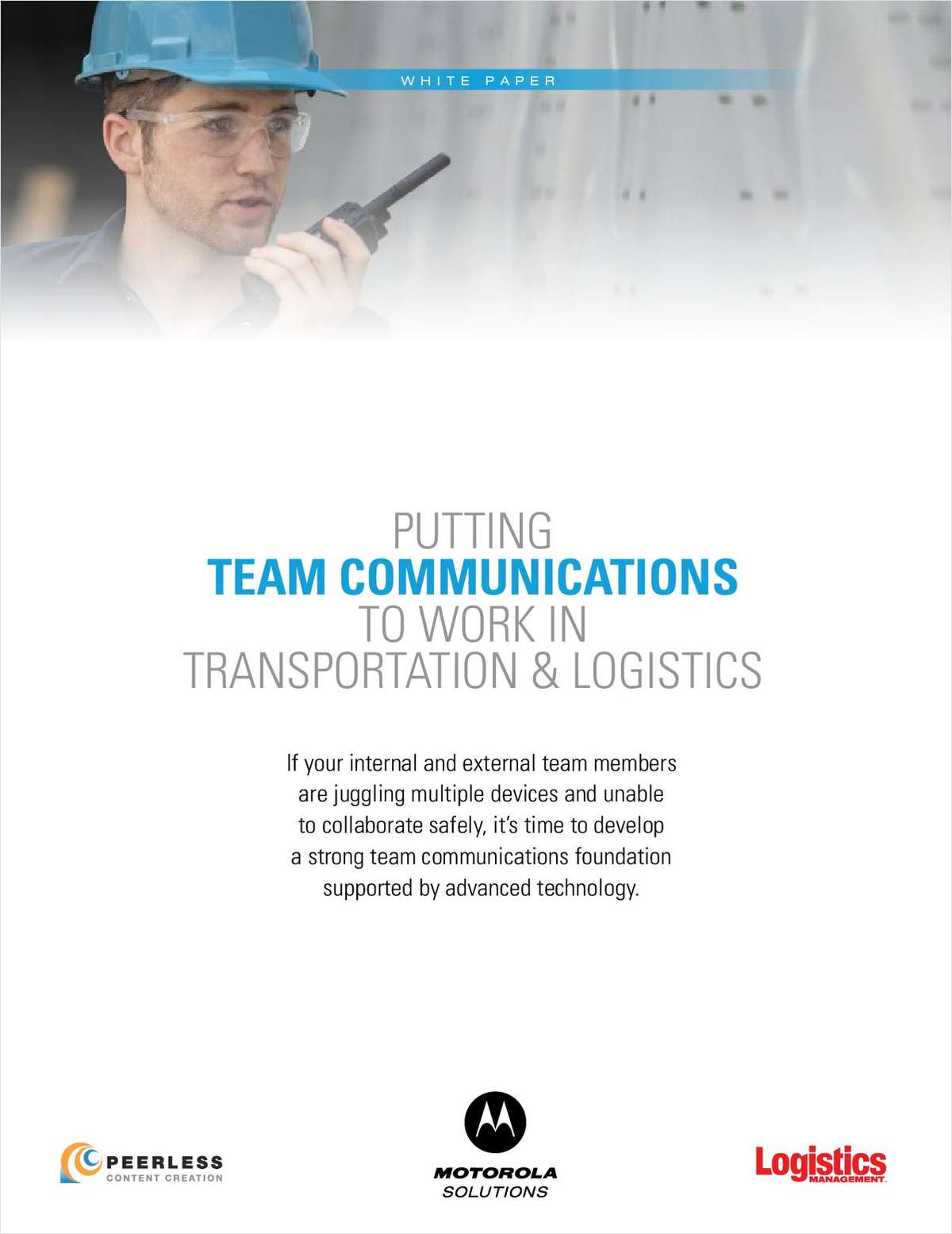 Putting Team Communications to Work in Transportation & Logistics