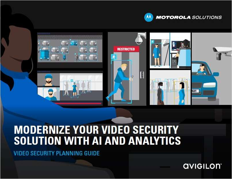 Modernize Your Video Security Solution with AI and Analytics