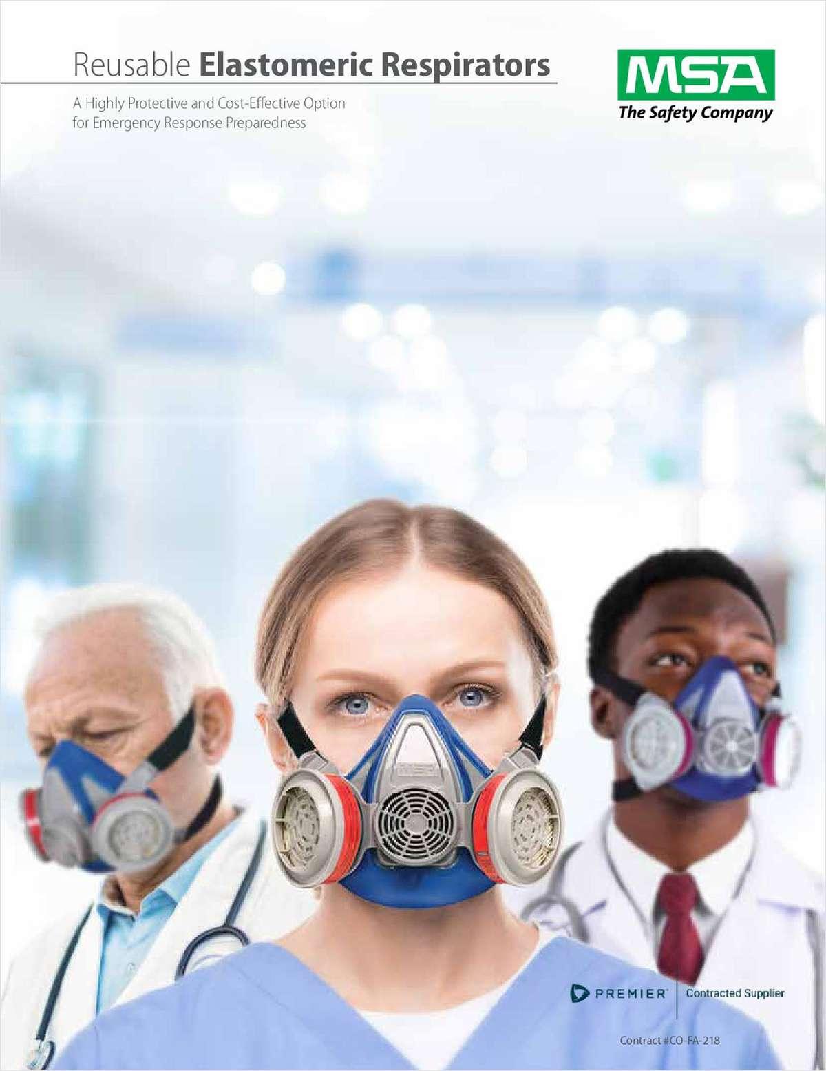 Reusable Elastomeric Respirators: A highly effective option for emergency response preparedness
