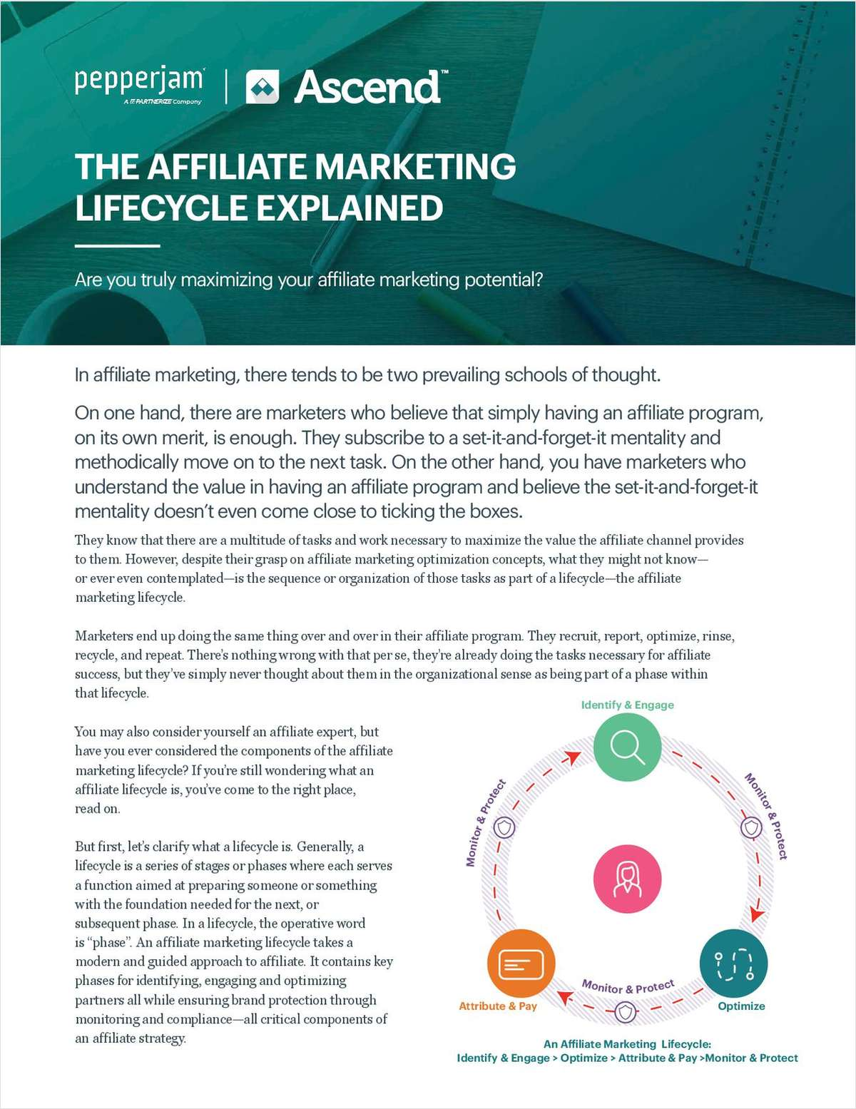 The Affiliate Marketing Lifecycle Explained