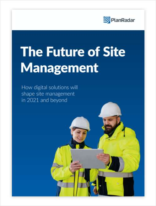 The Future of Construction Site Management