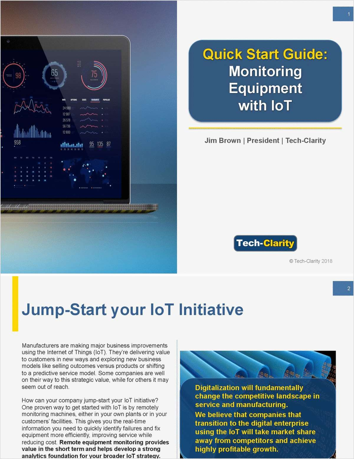 Quick Start Guide: Monitoring Equipment with IoT
