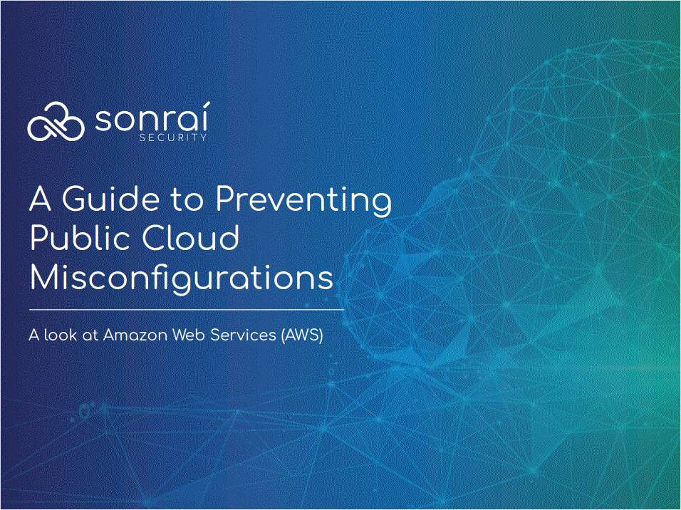 Preventing Public Cloud Misconfigurations: A Guide