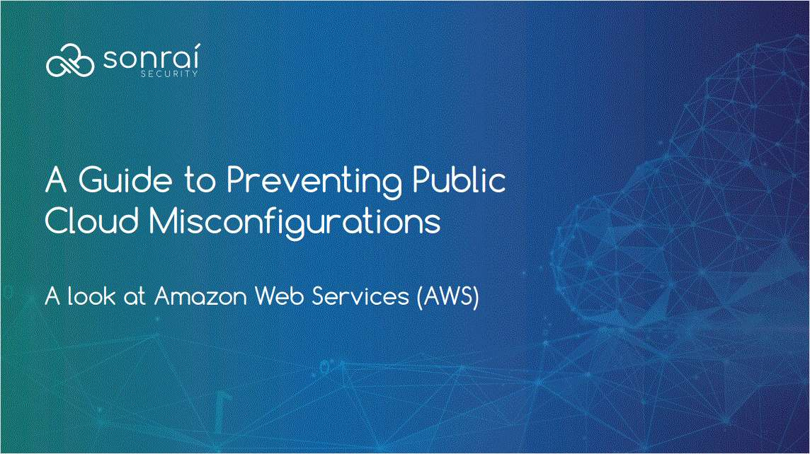 Preventing Public Cloud Misconfigurations