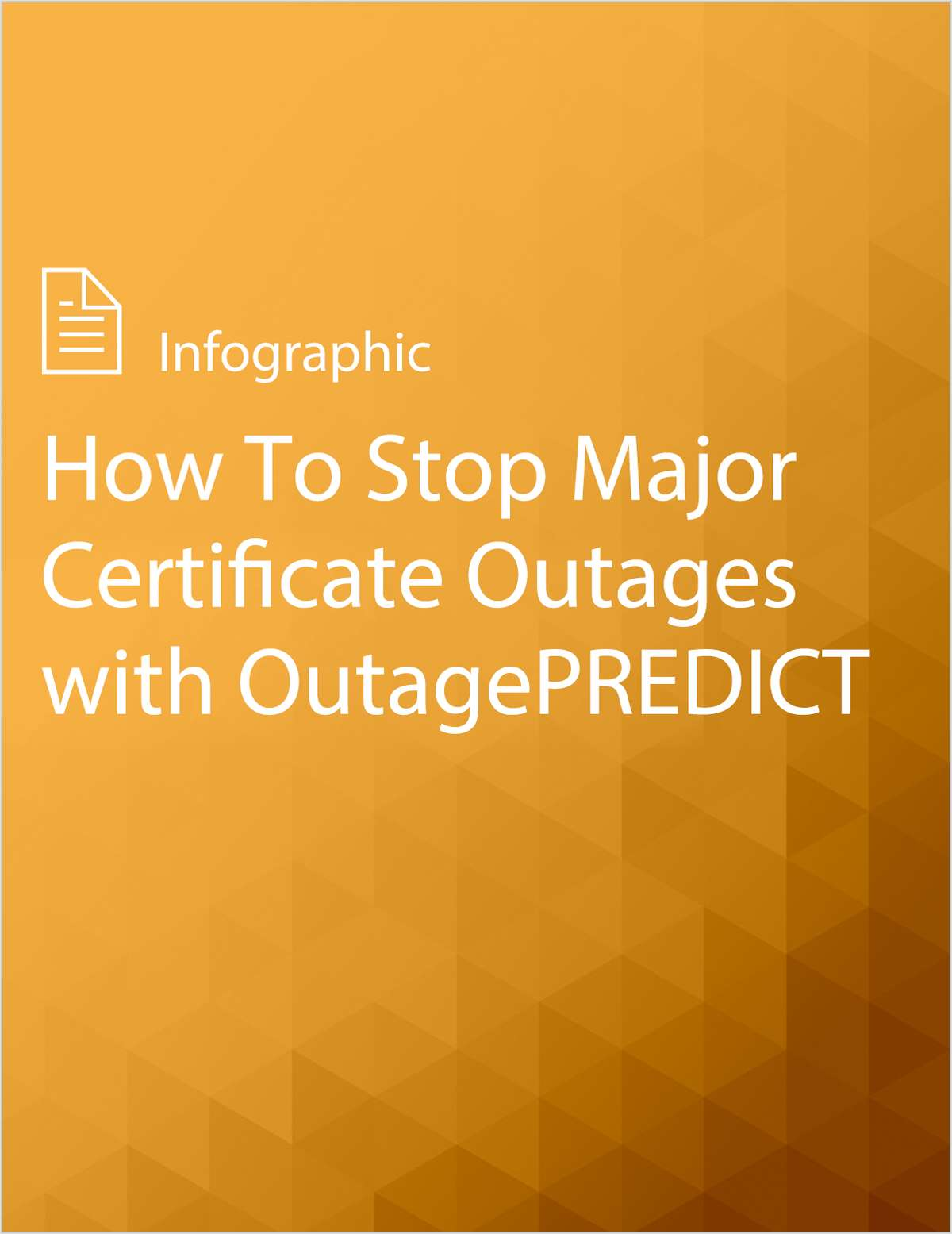 How To Stop Major Certificate Outages