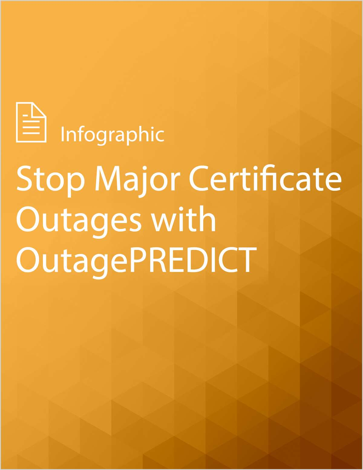 Stop Major Certificate Outages