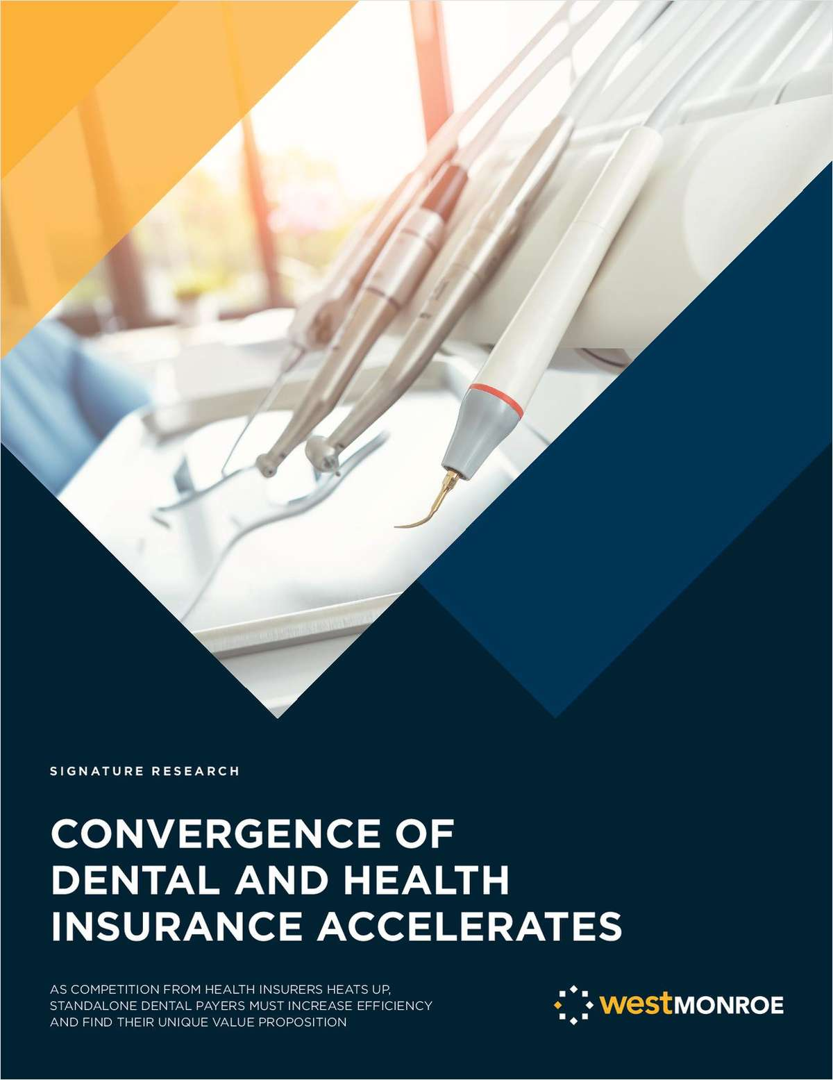 Convergence of Dental and Health Insurance Accelerates