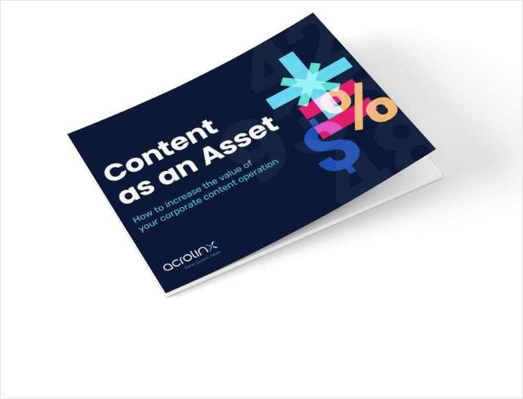 Content as an Asset