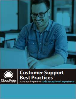 Customer Support Best Practices