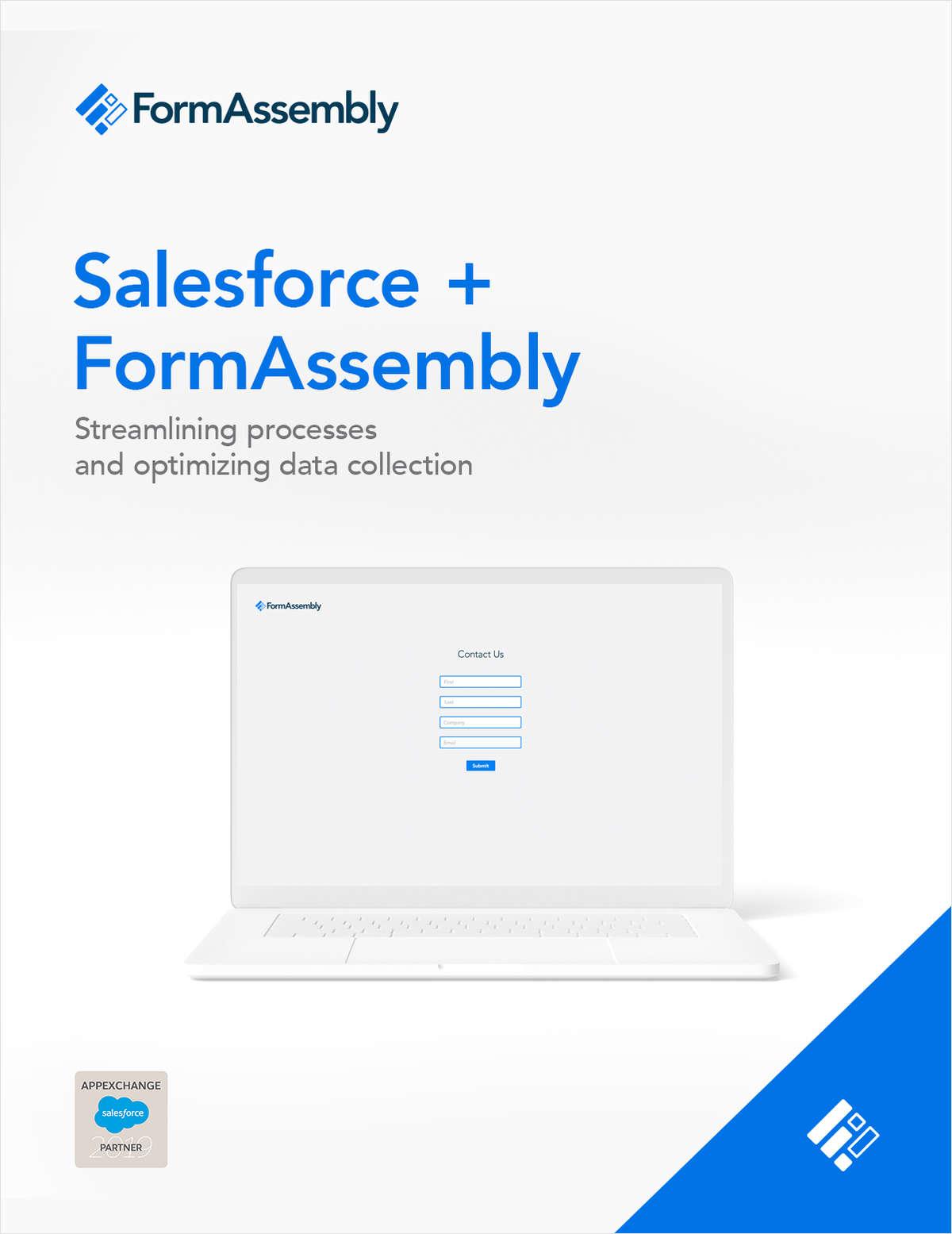 Salesforce + FormAssembly eBook